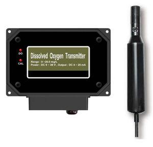 Transmitter/Kontroller gelöster Sauerstoff  0-20mg/L Sauerstoffmessgerät Controller Wasser (9-30Volt/4-20mA) SA7