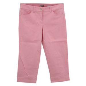 23590 Gerry Weber, Best4Me,  7/8 Damen Jeans Hose, Stretchdenim, rosa, 40 / 19L