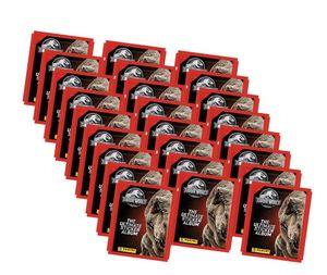 Panini Jurassic World Sticker (2020) - Jurassic World Sammelsticker - 25 Tüten Sticker