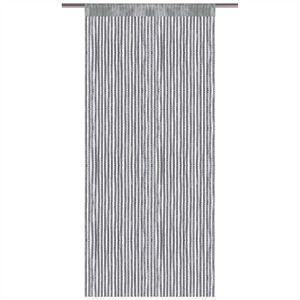 Fadenvorhang Metallic-Streifen, Größe: 90x200cm, Farbe: Anthrazit