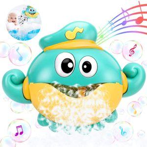Badespielzeug Bubble,Badespielzeug Bubble Kinder Bubble Machine Automatische Bubbles Maker Octopus Seifenblasenmaschine