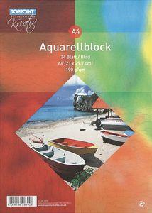 Stylex Aquarellböcke DINA4 24 Blatt 190g 28690