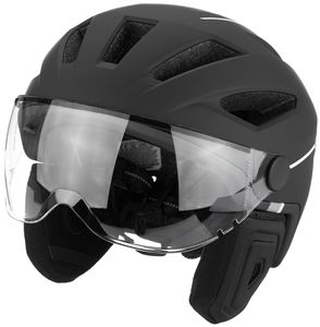 ABUS Pedelec 2.0 ACE Helm velvet black Kopfumfang L | 56-62cm