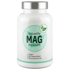 MAGNESIUM KOMPLEX - Tri-Magnesium-Dicitrat + natürliches, marines Magnesium I 90 Tagesportionen - 362mg elementares Magnesium I Ohne Zusatzstoffe, vegan, hochdosiert & besonders verträglich