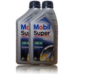 Mobil Super 1000 X1 15W-40 2x1 Liter