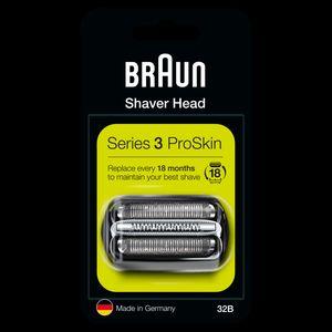 Braun Series 3 32B Elektrorasierer Ersatzscherteil – schwarz