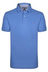 Tommy Hilfiger Herren Polo Poloshirt Premium Pique REGULAR FIT Size: L /  Blau