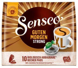 Senseo, Kaffeepads, Guten Morgen Strong XL, 10 er, 125 g