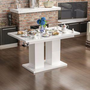 Esstisch ,Esszimmertisch, Küchentisch ,Tisch ausziehbar Hochglanz