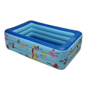 Bestway Aufblasbare Pool Kinder Familie Swimming Pool Hinterhof Spiel Planschbecken 210 x 145 x 65 cm