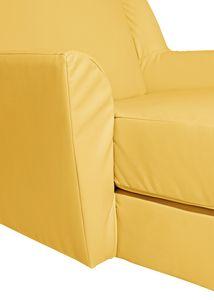 Max Winzer Judith Big-Sessel inkl. 1x Zierkissen 55x55cm - Farbe: mais - Maße: 136 cm x 142 cm x 107 cm; 2891-767-2070166-F01