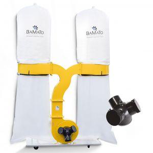 BAMATO Absauganlage AB-3900 mit Y-Adapter (400V)