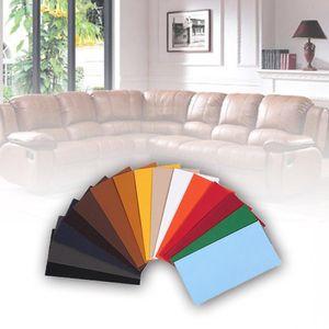 Kein Bügeln Sofa Reparatur Leder PolyurethanStoff Aufkleber Patches Sammelalbum Stoff