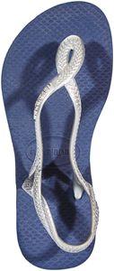 havaianas Luna Sandals Kids Navy/Silver Schuhgröße EU 29/30 | Brazilian 27/28