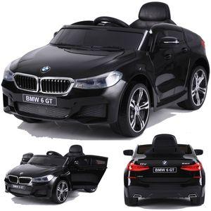 BMW GT 640i SUV Kinderauto Kinderfahrzeug Kinder Elektroauto mit Türen 12V 2x Motoren Schwarz