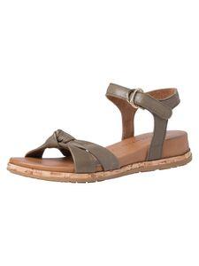 Tamaris Damen Sandale grün 1-1-28280-36 weit Größe: 39 EU