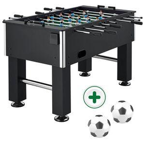 ArtSport Tischkicker Wuzzler – Kickertisch inkl. 2 Bälle mit Getränkehalter – Kicker – Tischfußball – Fußballtisch - Kickerkasten