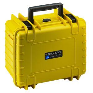 B&W International B&W Outdoor Case Typ 2000 - Gelb Leer