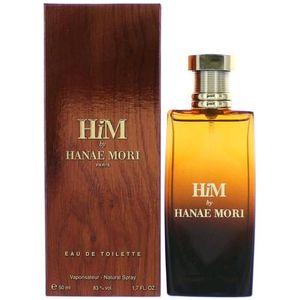 Hanae Mori Him by Hanae Mori Eau De Toilette Spray 1.7 oz