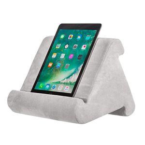 Tablet-Unterstützung Multi-Angle Soft Pillow Lap Stand für Pad Tablet Kissen Telefon Laptop Halter , grau