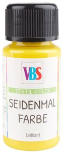 VBS Seidenmalfarbe, 50 ml Zitrone