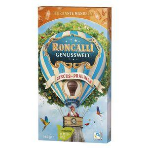 Roncalli Cirus Pralinen Genusswelt mit gebrannten Mandeln 140g