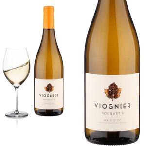 12er Karton 2020 Viognier Rouquets trocken von Cellier du Pic - Weißwein