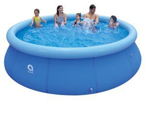 Avenli® Prompt Set™ Ø 360x90cm Quick Up Gartenpool Aufstellpool mit aufblasbarem Ring Ersatzpool ohne Zubehör
