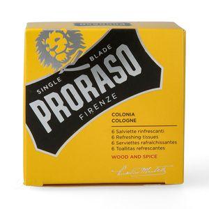 Proraso - Erfrischungstücher - Wood & Spice
