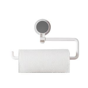 An der Wand befestigter Papierhandtuchhalter-starker klebender drehbarer Multifunktionsrollenorganisator fuer Kuechen-Badezimmer-Wohnzimmer-Buero