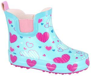 Beck Kinder Gummistiefel SWEETHEARTS 906 hellblau, Farben:blau, Kinder Größen:20