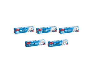 Paclan Eiswürfelbeutel, 50 Beutel für 450 XXL-Eiswürfel