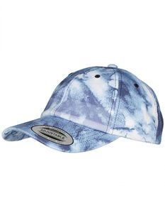Low Profile Batic Dye Cap, Robustes Jersey Material - Farbe: Batic-Navy - Größe: One Size