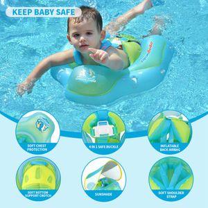 Baby Sonnencreme Schwimmring schwimmender aufblasbarer Kinderpool Partyurlaub geeignet für Kinder 2-4 Jahre alt 12,5 -22 kg years