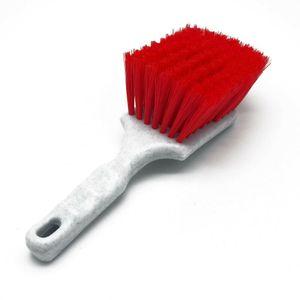 Felgenbürste Bürste Handbürste Felgenreinigung Waschbürste für Profis kurz Stiel