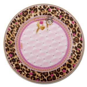 Little Diva Kuchenteller Leopard Rose 2er Set