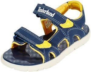 Timberland Perkins Row 2-Strap Sandals Kinder black iris Schuhgröße US 10,5 | EU 28