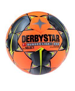 DERBYSTAR Bundesliga Brillant APS Winter Fußball orange/schwarz/gelb 5