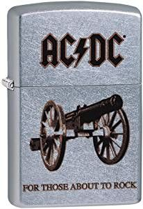 ZIPPO ® Feuerzeug  60004955 ACDC cannon  for those about to rock