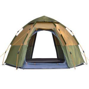 Kabinenzelt 5-8 Personen Pop Up Zelt Automatische Instant Pop Up Zelt Wasserdichter UV-Schutz Sonnenschutz Einfache Einrichtung Zelt for Camping, Wandern Bergsteigen Reisen