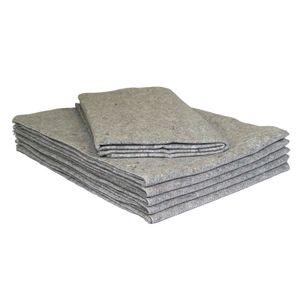 10 Möbeldecken Umzugsdecken 130 x 200 cm Packdecken Lagerdecken für Umzug
