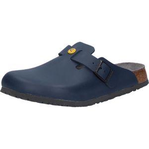 Birkenstock Boston Pantolette ESD blau Herren Gr. 44