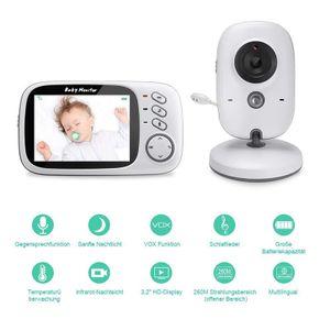 Baby Monitor 2,4G Wireless Mit 3,2 Zoll LCD 2 Weg Audio Sprechen Nachtsicht Überwachung Sicherheit Kamera babysitter