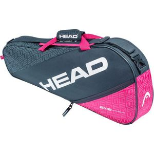 HEAD Elite 3R Pro Tennistasche Anthrazit- Pink