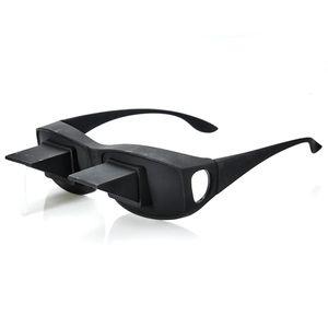 Fernseh Lese Winkelbrille 90 Grad Blick | Prismabrille Fernsehbrille | Umlenkende TV Bett Prisma Brille Lesebrille | Zum Lesen Im Liegen