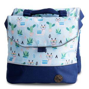 BAMBINIWELT Gepäcktasche, Gepäckträgertasche für Fahrrad, Fahrradtasche für Kinder, wasserabweisend, Modell 28