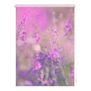 Rollo Klemmfix, ohne Bohren, blickdicht, Blumenwiese - 70 x 150 cm (B x L)
