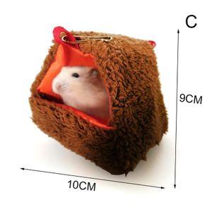 Kleintiere Warm Tunnel Hammock hängendes Bett Frettchen Ratte Hamster Vogel Eichhörnchen Schuppen Höhle Hut Hängen Käfig Pet Supplies