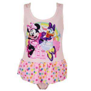 Disney Minnie Maus und Daisy Kinder Badeanzug Rosa - Gr. 122
