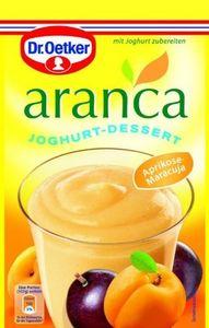 Dr. Oetker Aranca Joghurt-Dessert Aprikose & Maracuja